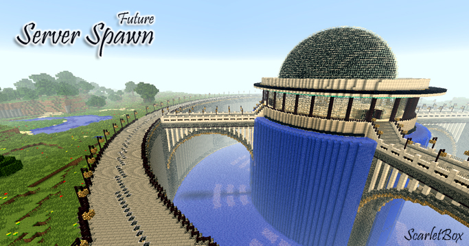 Futuristic Server Spawn Map Screenshots 3