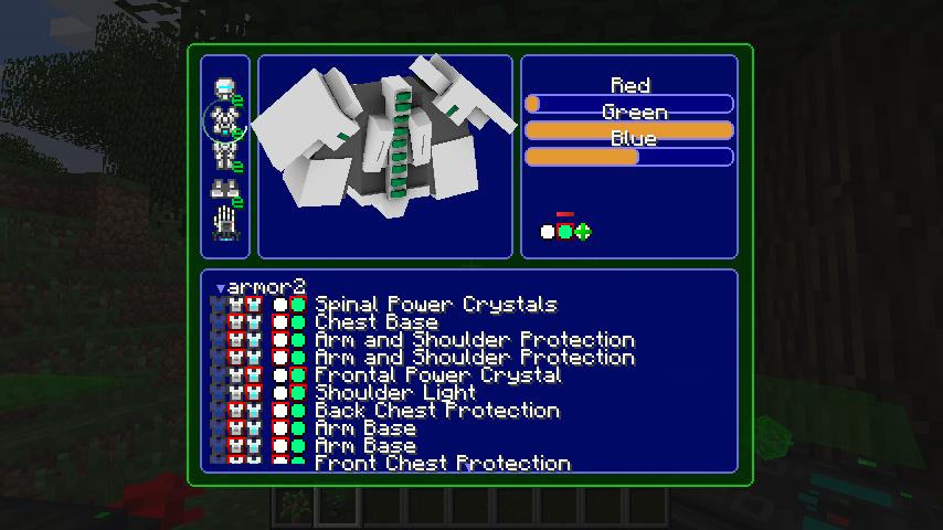Modular Powersuits Mod