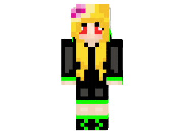 http://img2.9minecraft.net/Skin/Kriper-girl-skin.png