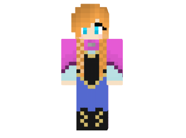 http://img2.9minecraft.net/Skin/Princess-anna-from-frozen-skin.png