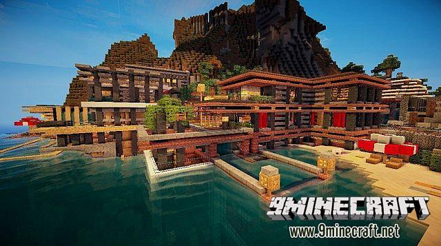Luxurious Cove House Map Screenshots 1