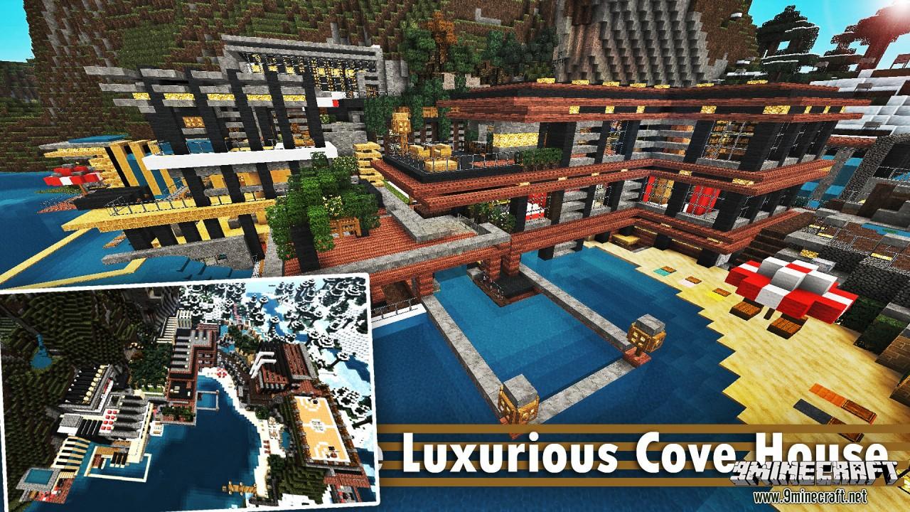 Luxurious Cove House Map Screenshots 10