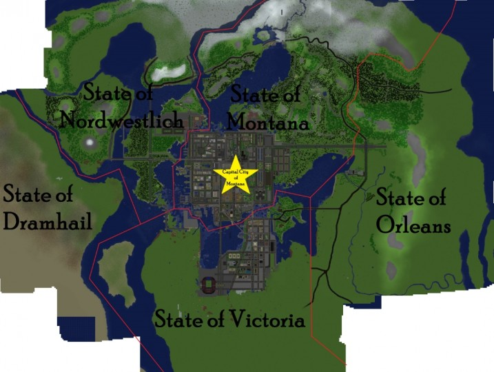 Union Islands Map Screenshots 1