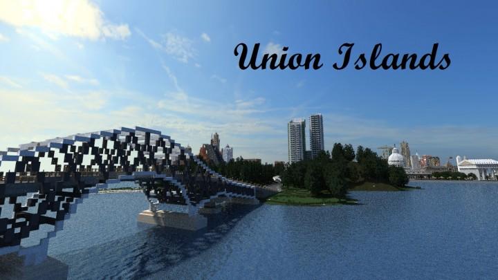 Union Islands Map Thumbnail